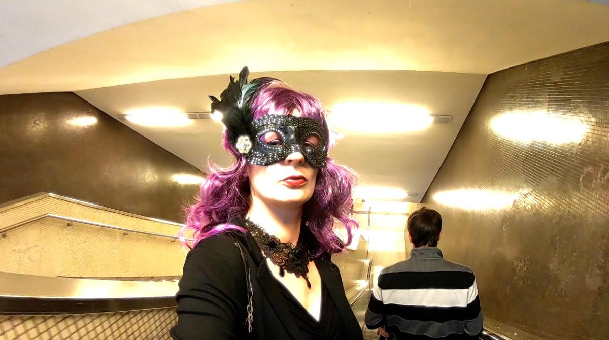 Maskenlos durch die Stadt